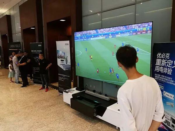 2018CIT~爱普生携手网庭现场展示客厅影院解决方案