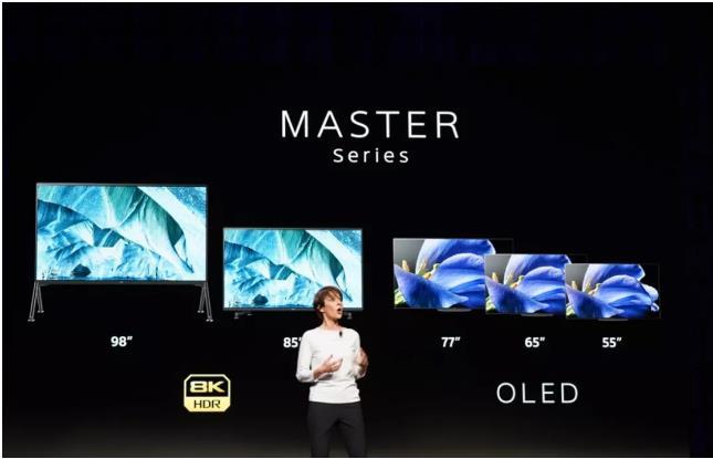 索尼CES展会重磅发布画谛旗舰电视新品Z9G与A9G